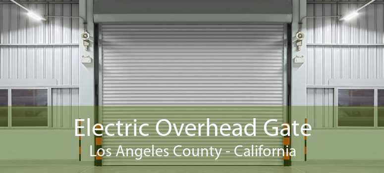 Electric Overhead Gate Los Angeles County - California