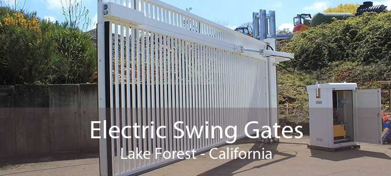 Electric Swing Gates Lake Forest - California
