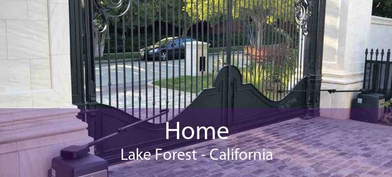 Home Lake Forest - California